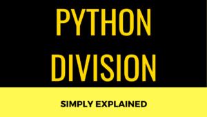 Python Division