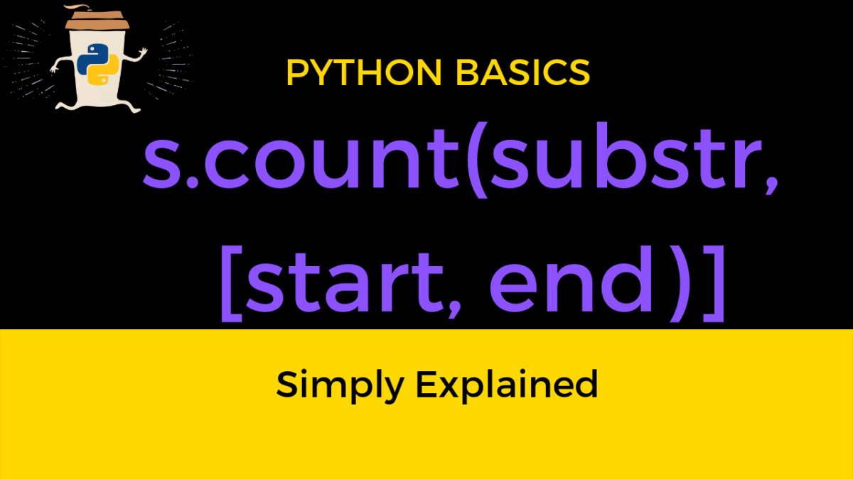 Python String Count