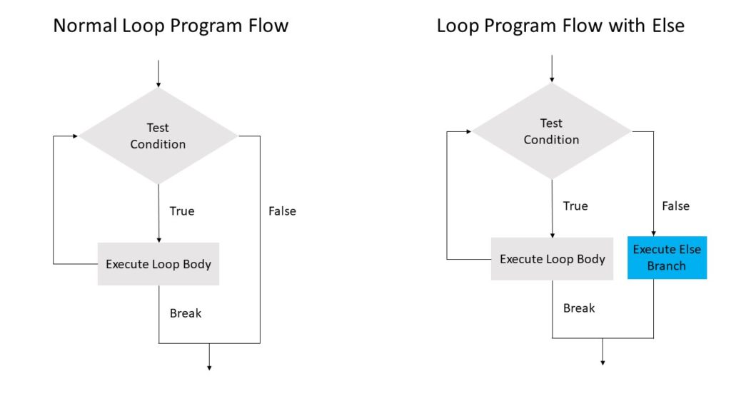 Else Branch Loop Program Flow