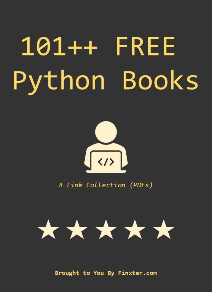 101 Free Python Books Finxter