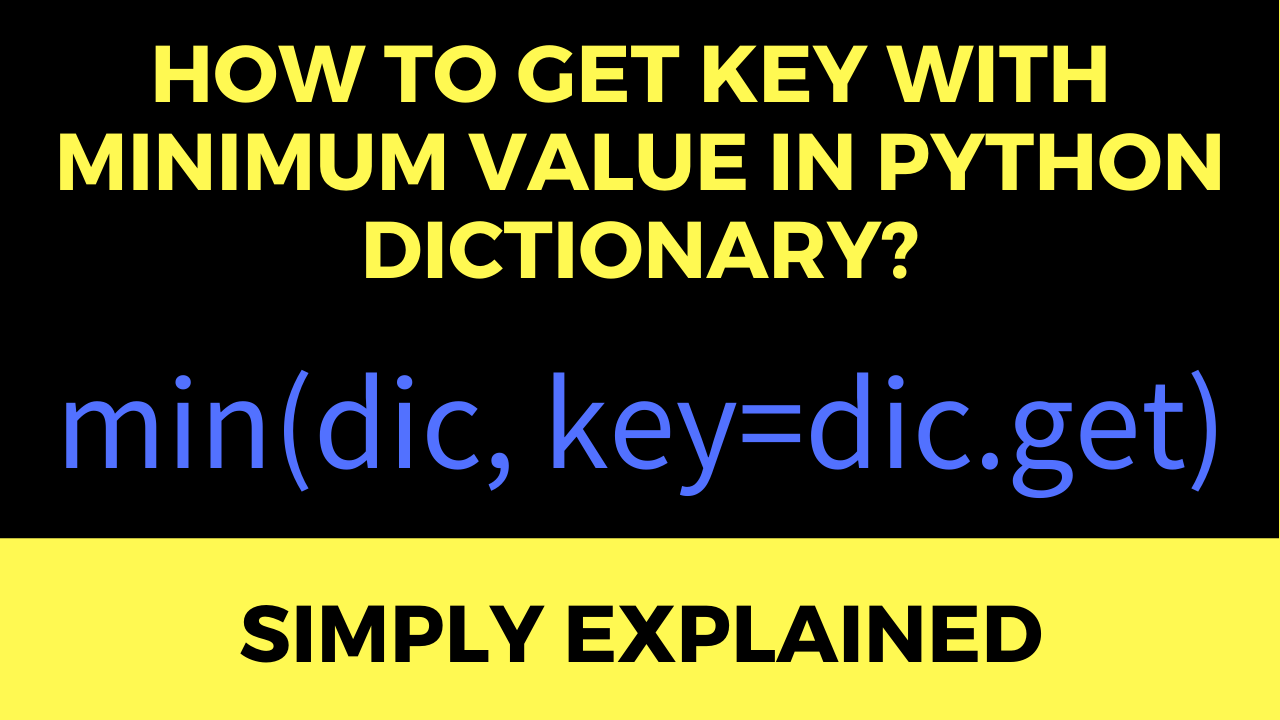 How to Get the Key with Maximum Value in a Python Dictionary ...