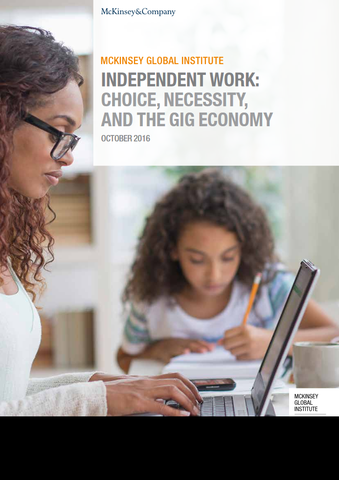 Independent Work: Choice, Necessity, and the Gig Economy