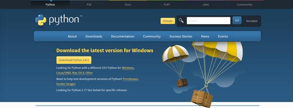 Python Download Website