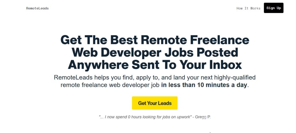 Remote Leads