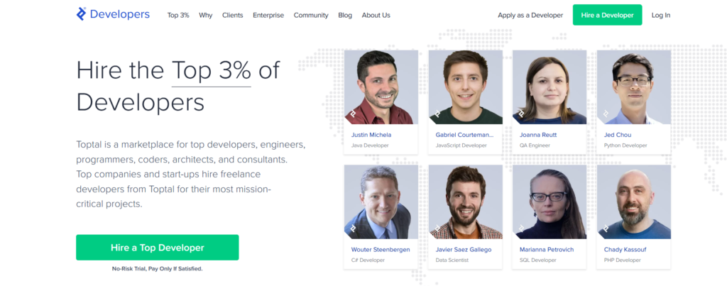 TopTal Developers