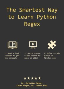 The Smartest Way to Learn Python Regex Book