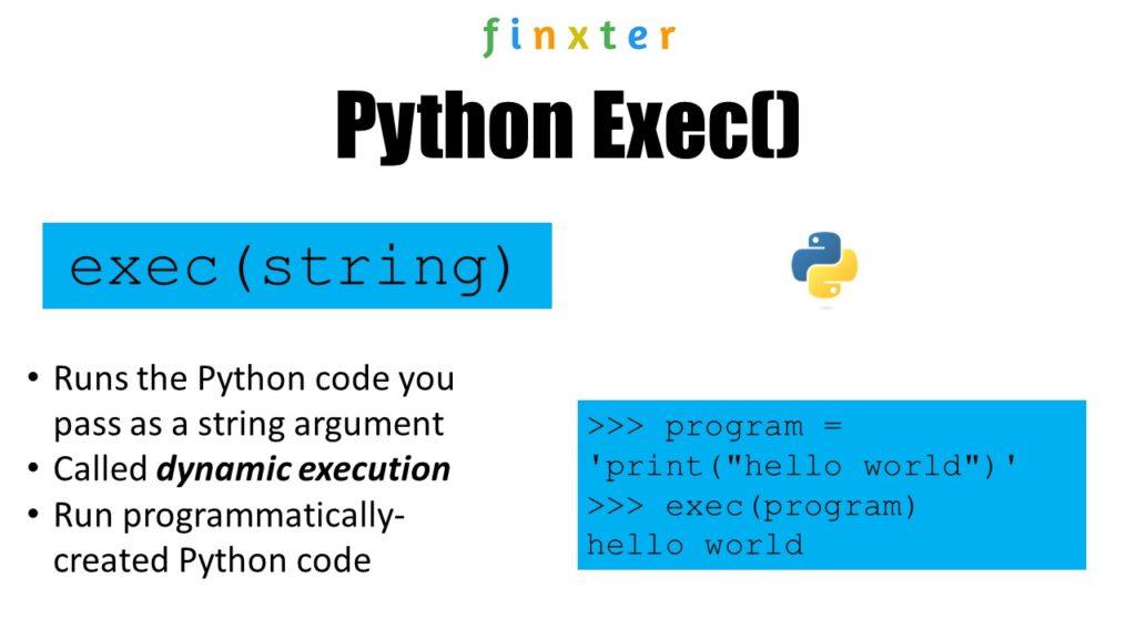 Python exec() Explained Illustrated