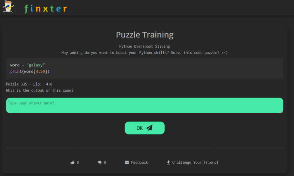 Slicing Puzzle: Test Your Skills Overshooting