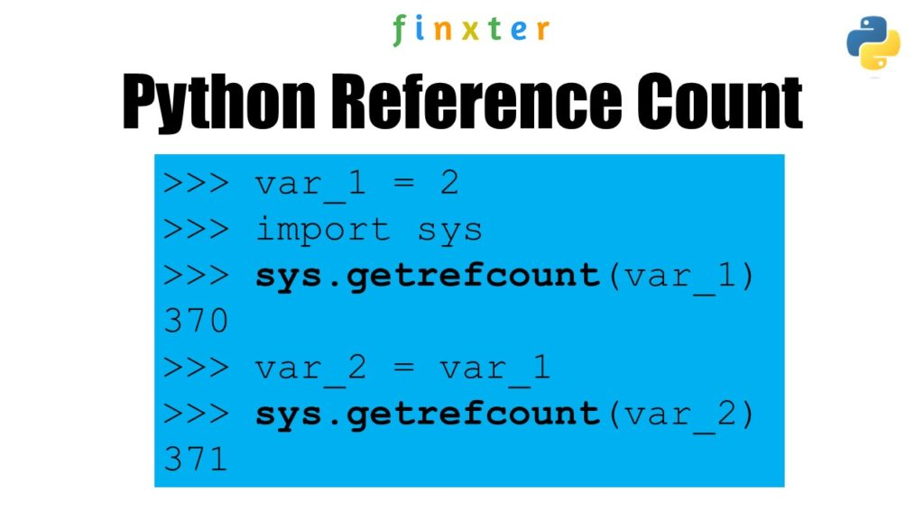 Get Reference Count Object Python