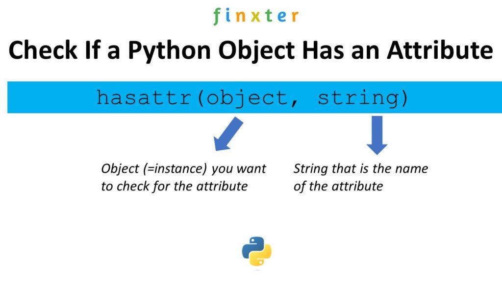 Python hasattr()