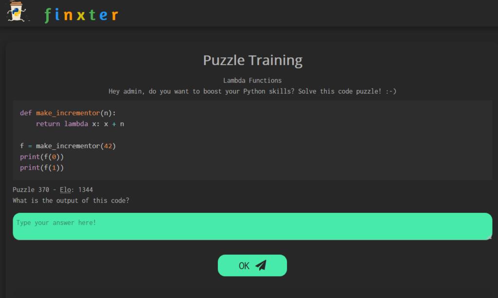 Lambda Function Python Puzzle