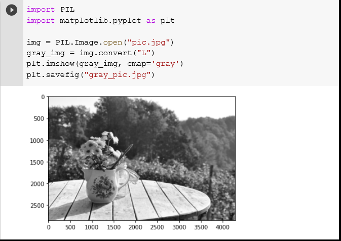 How to Display an Image as Grayscale in Python Matplotlib? Interactive Code Example