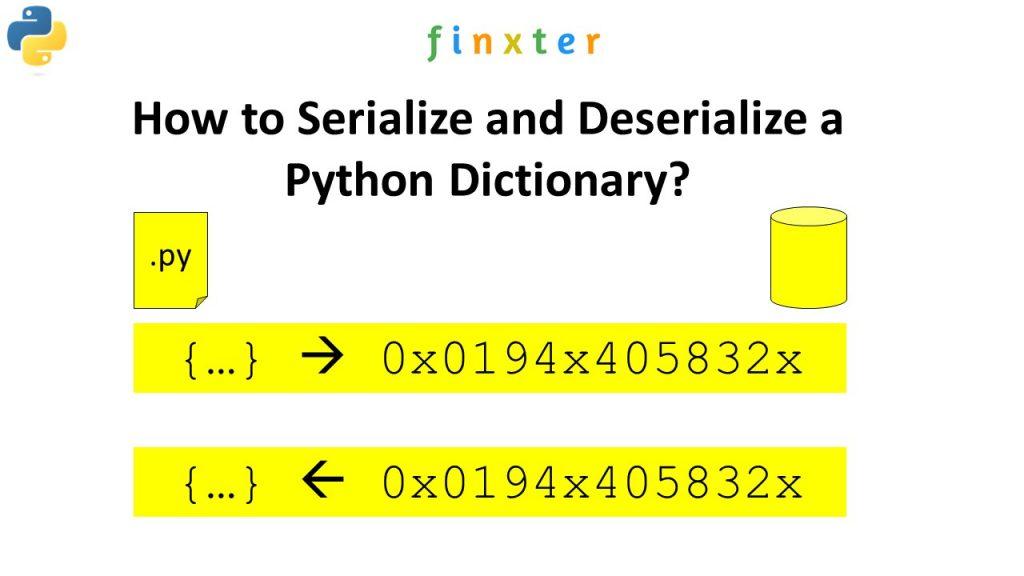 serialize/deserialize python